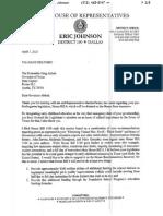 Eric Johnson Letter to Abbott Re HB4