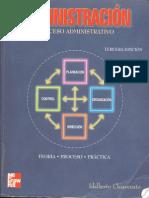 Administracion, Proceso Administrativo, De Chiavenato (2001)
