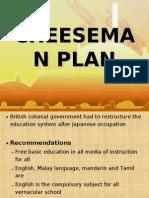 Cheeseman Plan
