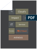 Cloud the Impact on IT Services