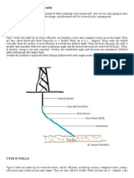 Directional Well Profiles
