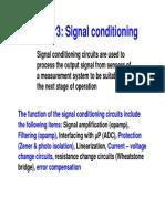 Eee 436 Signal Conditioning 1
