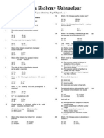 FSC Chemistry 2