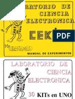 Cekit Manual de Experimentos Electronicos
