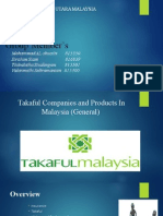 Takaful Companies and Products in Malaysia
