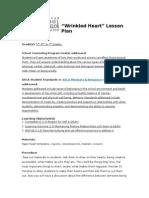 wrinkled heart lesson plan