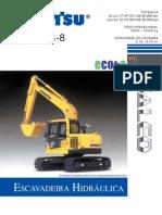 Escavadeira - Komatsu PC138US-8