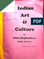 Indian Art & Culture - IAS 51 rank ( Nitin Singhaniya) -1.pdf