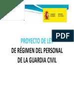 Proyecto Ley Regimen Personal GC