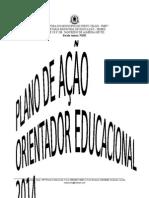 Plano de Ação Orientação Educacional 2014