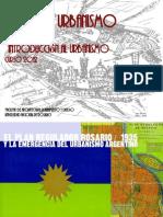 El Plan Regulador Rosario y La Emergencia Del Urbanismo en Argentina 2012