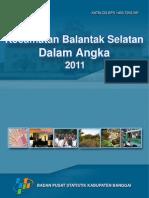 BALANTAK SELATAN DALAM ANGKA 2011