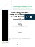 2010 07 ChinaEnergyEfficiencyRoundRobinTestingResultsforAirConditioners[1]