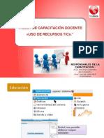 TALLER DE CAPACITACION DOCENTES MMV