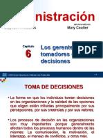 GERENTE TOMADOR DECISIONES