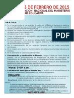 Chapola Jornada Planeta Rica Jueves 26 Febrero 2015.
