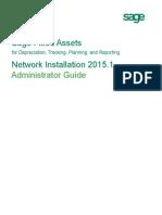 Sfa 20151 Network Installation Guide