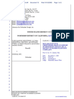 CLRB Hanson Industries, LLC et al v. Google Inc. - Document No. 15