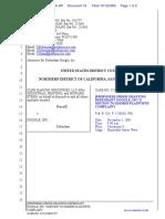 CLRB Hanson Industries, LLC et al v. Google Inc. - Document No. 16