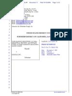 CLRB Hanson Industries, LLC et al v. Google Inc. - Document No. 17