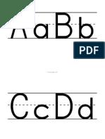 Alphabet Letters Big