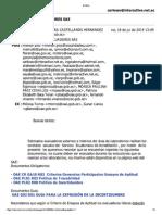 Información para Evaluadores del SAE
