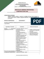 Plan modular 2015 de las intituciones educativas públicas