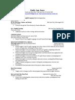 edu 6490 resume draft