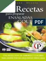 84 Recetas Para Preparar Ensaladas Gourmet - Mariano Orzola