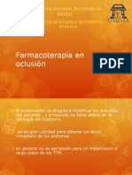 Farmacoterapia en olcusión