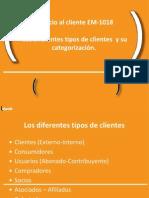 Los Diferentes Tipos de Clientes y Su Categorización