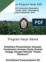 Presentasi Program Kerja KKN