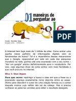 1001 MANEIRAS DE PERGUNTAR PARA O GOOGLE