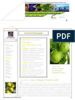 Aromaterapia-Bergamota-Aceite Esencial de Bergamota