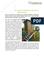 GVI Fiji Achievement Report February 2015 - Composting Toilet Solutions