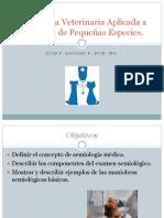 Semiología Veterinaria Aplicada a La Clínica de Pequeñas