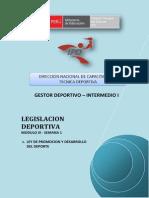 LEGISLACION DEPORTIVA - MÓDULO III - SEMANA 1 - G01.pdf