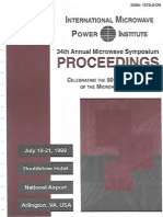 34th Annual Microwave Symposium Proceedings, 1999