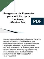 Lectura México Lee