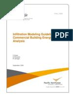 DOE Infiltration Modeling Guidelines