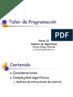 Análisis de Algoritmos1