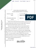 Lopez v. Gee - Document No. 3