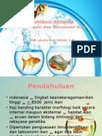 Identifikasi Dan Taksonomi Ikan Ikhtiologi