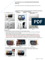 Instructional Manual Continuous Ink System for Use in HP Deskjet 3320,3323,3325,3420,3425 With Cartridges