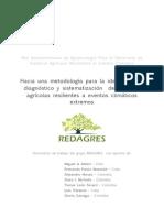 Hacia Una Metodología Para La Identificació Ndiagnóstico y Sistematización de Sistemas Agrícolas Resilientes a Eventos Clim