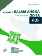 Provinsi Aceh Dalam Angka 2013