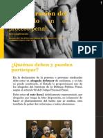La Declaración Del Sindicado en El Proceso Penal