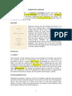 (2014) Revised Parkinson's Drugs Handout