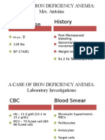 A Case of Iron Deficiency Anemia - Draft 1