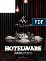 Vista Alegre Hotelware Premium Catalogue 2015